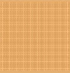 Sweet dessert waffle texture seamless pattern vector