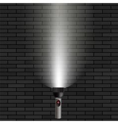 White beam light vector