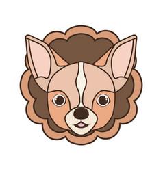 Card cute and lovely dog vector