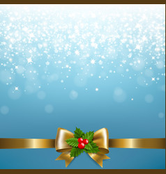 Christmas blue background vector