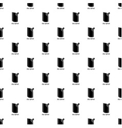 Doy pack pattern seamless vector