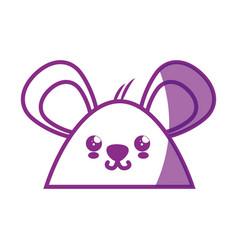 Hamster kawaii cartoon vector