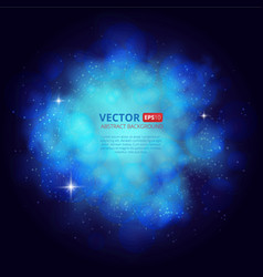 Nebula abstract background with place for text vector