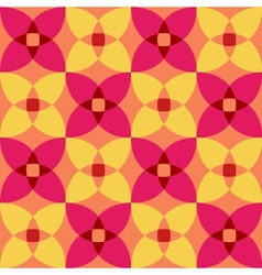 seamless 3d geometric abstract pattern vector image