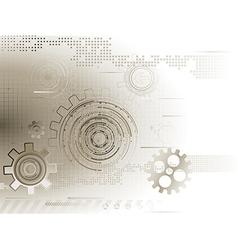 Tech abstraction vector