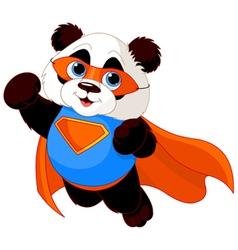 Super Panda vector image vector image
