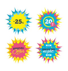 25 percent discount sign icon sale symbol vector image