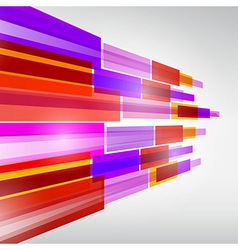 Abstract Colorful Transparent Strips Background vector image