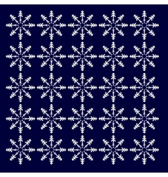 abstract winter background vector image