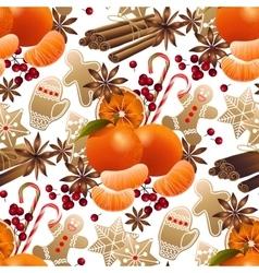 Christmas sweet pattern vector