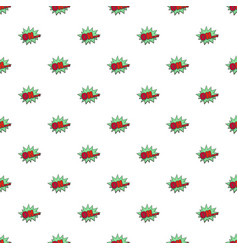 Comic boom oh pattern seamless vector