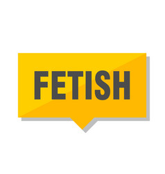 Fetish price tag vector