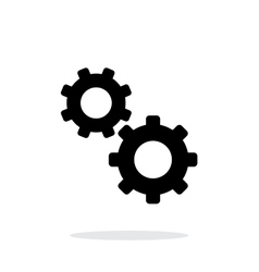 Repair simple icon on white background vector image