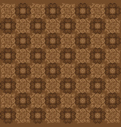 simple motifs in parang batik style vector image