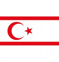 turkish republic vector image