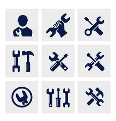 repair icon vector image