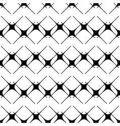 Star black seamless pattern vector image vector image