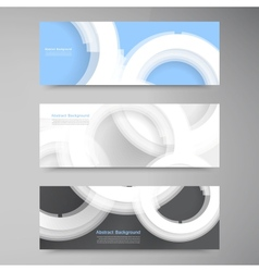 abstract gem and blue ice set vector image vector image