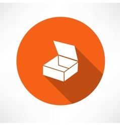 empty box icon vector image