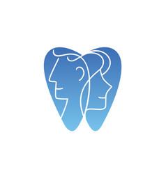 Dental logo design vector