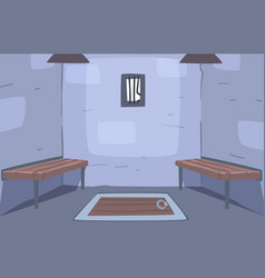 escape ancient room interior prison ell reality vector image
