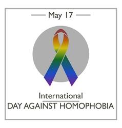 International Day Against Homophobia vector