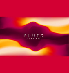 orange purple gradient background fluid mesh vector image