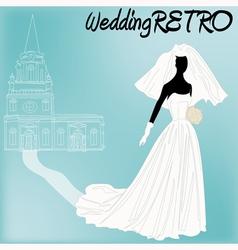 Retro Wedding vector