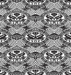 seamless floral antique pattern vector image