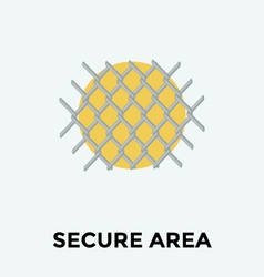 Security Fence vector image