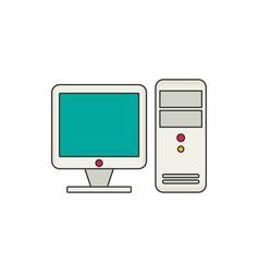 computer flat vector image