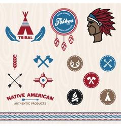 Tribal designs vector image vector image