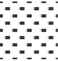 charging device pattern seamless vector image