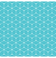 cube dot pattern background vector image