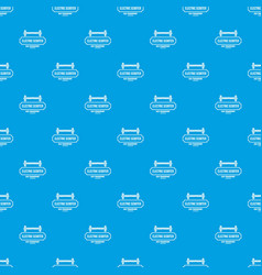 Device gyro scooter pattern seamless blue vector