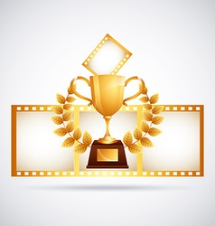 film award vector image