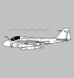 Grumman a-6 intruder vector