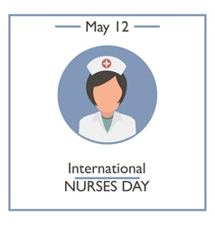International nurses day vector
