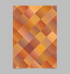 modern geometrical colorful diagonal square vector image
