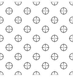 Paintball gun sight pattern seamless vector