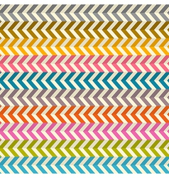 Seamless Abstract Colorful Toothed Zig Zag Paper vector image