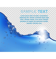 Water vector image
