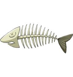 fishbone vector image