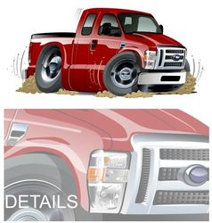 cartoon muscle pickup vector image vector image