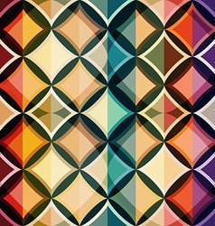 color mosaic seamless pattern vector image