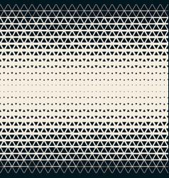 2d modern triangle grid seamless geometric pattern vector image