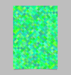 abstract gradient trendy diagonal square pattern vector image