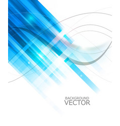 abstract technology lines blue colorful wave vector image