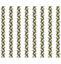 Bee line chevron stripes vector