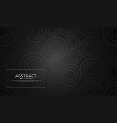 Black modern geometric shape abstract background vector